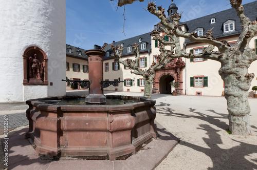 Schloss Courtyard Bad Homburg