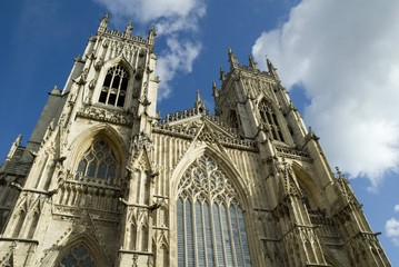 York Minster or Cathedral in Yorkshire England