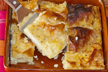greek traditional cheese pie