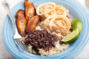 Delicious Cuban Dinner