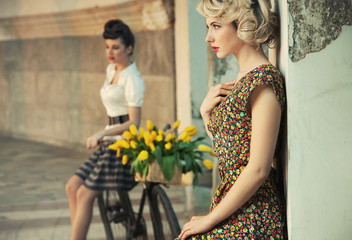 Fashion style photo of a gorgeous women