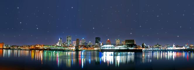 Montreal at night\