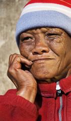 A Senior African woman