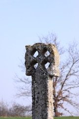 very old cross of the Templars