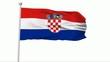 Fahne Kroatien NTSC