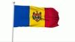 Fahne Moldawien NTSC