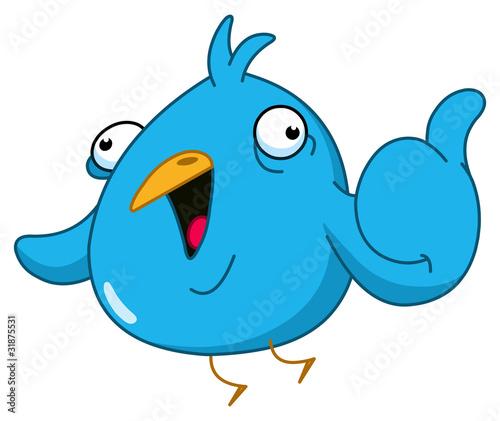 Thumb up bird