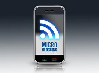 """Smartphone """"Microblogging"""""""