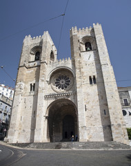 Se Cathedral in Lisbon, Portugal.