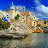 Syros - beautiful greek islands series