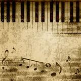 Fototapeta muzyka - muzyczny - Sztuka Nowoczesna