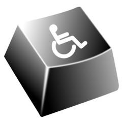 Handicap button icon