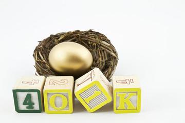 401K Savings Concept