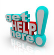 Get Help Here - Customer Support Service Solutions