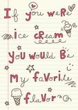 Ice Cream Word