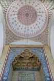Mosque ceiling decoration in Sarajevo poster