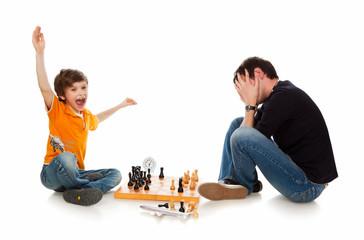 beaten in chess