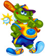 baseball hippo