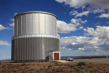 Astronomical Telescope in Sutherland, South Africa