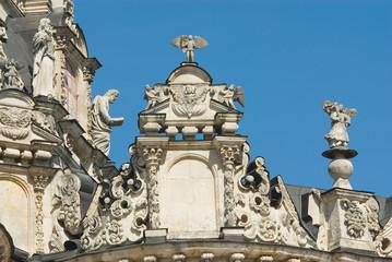 Храм Знамения Пресвятой Богородицы в Дубровицах (фрагмент)