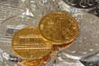 Silber- und Goldmünzen