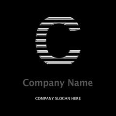 Logo Company C SILBER
