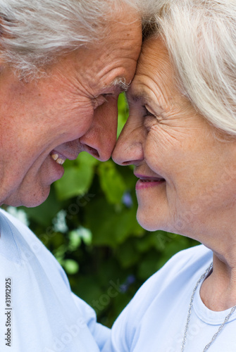 nice old couple