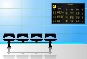 Sala del aeropuerto