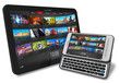 Tablet PC and side slider touchscreen smartphone
