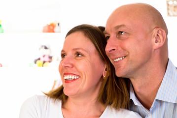 happy nice couple
