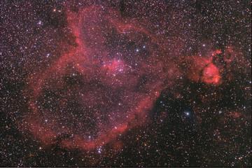 Heart nebula.