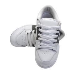 Pair of white sneakers