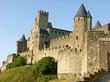 les remparts de la cité médiévale de Carcassonne