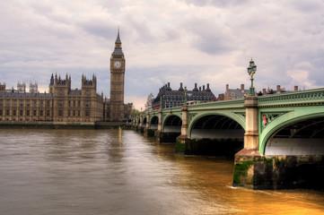 Westminsterbrücke und Parlamentsgebäude