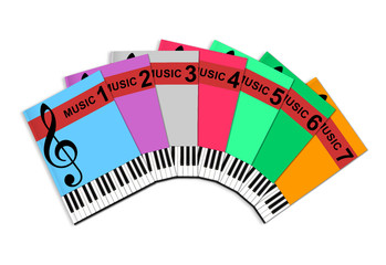 Music tuition books