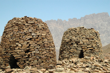 Beehive tombs Oman