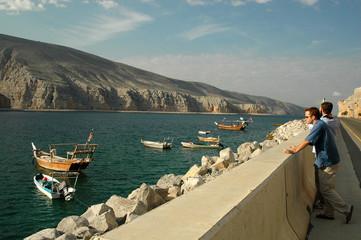 Mussandam Peninsulal, Oman