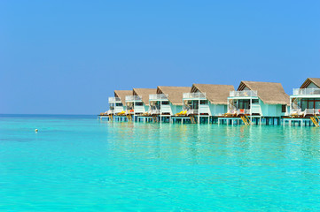 Maldive water villa - bungalows