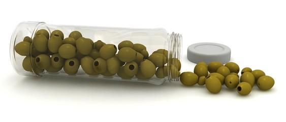 оливки из банки
