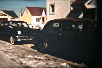 Cars of the 60s (Vintage 8mm film)
