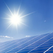 Leinwanddruck Bild - Sonnenenergie
