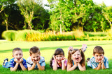 Fototapety kids laughing