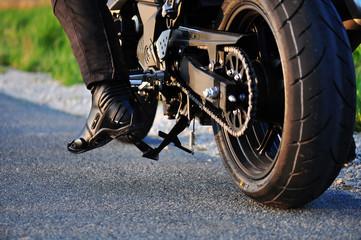 Motorrad Detail