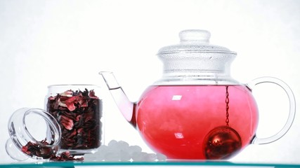 red Hibiscus tea