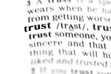 trust  (the dictionary project)