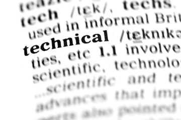 technical (the dictionary project)