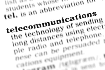 telecommunications (the dictionary project)