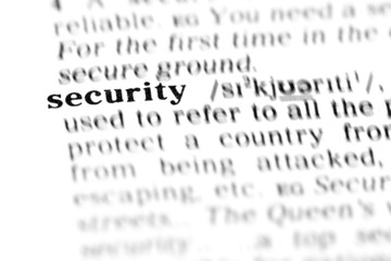 security (the dictionary project)