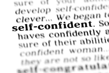 self-confident (the dictionary project)