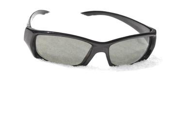 Black Sunglasses in the Snow